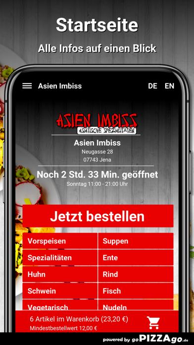 Asien Imbiss Jena Pizza screenshot 2