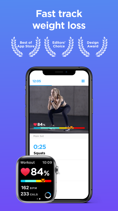 Zova: #1 Watch Workout Appのおすすめ画像1