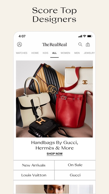 The RealReal - Buy+Sell Luxury screenshot-0