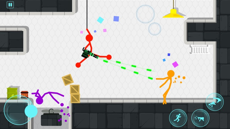 Stickman Project: Stick Fight screenshot-3