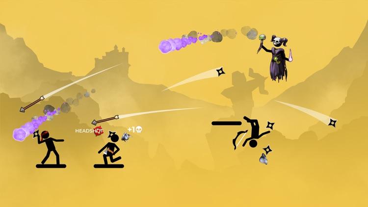 The Archers 2: stick man game screenshot-3