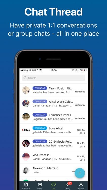 Allcal-Shared Calendar&Tickets screenshot-5