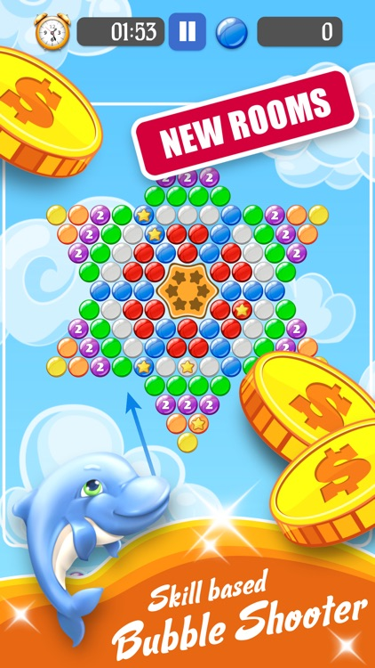Bubble Shooter With Cash Prize
