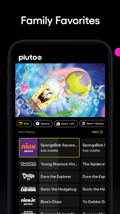 messages.download Pluto TV - Live TV and Movies software