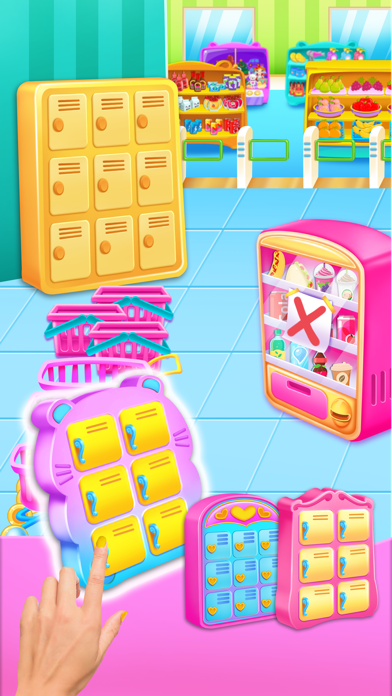 Supermarket Girl Cleanup screenshot #2