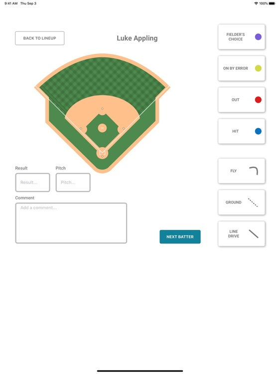 Hitters Track screenshot-5