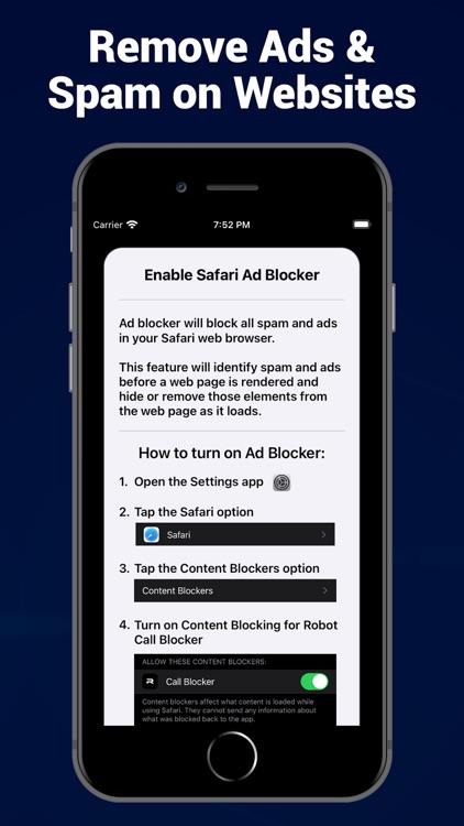 Robot Call Blocker screenshot-3