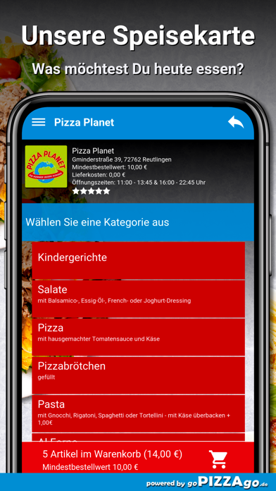 Pizza Planet Lieferservice screenshot 4