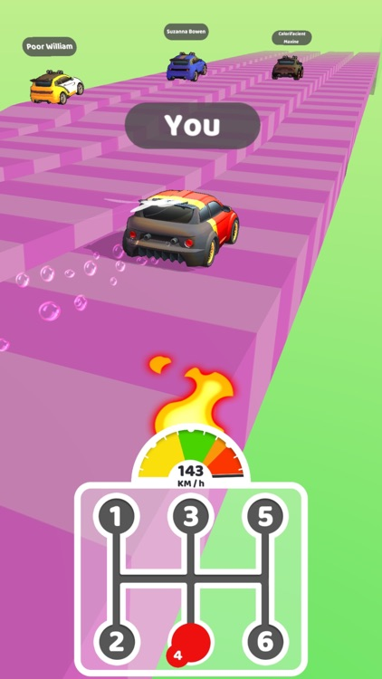 手档赛车王 (Gear Race 3D) screenshot-3
