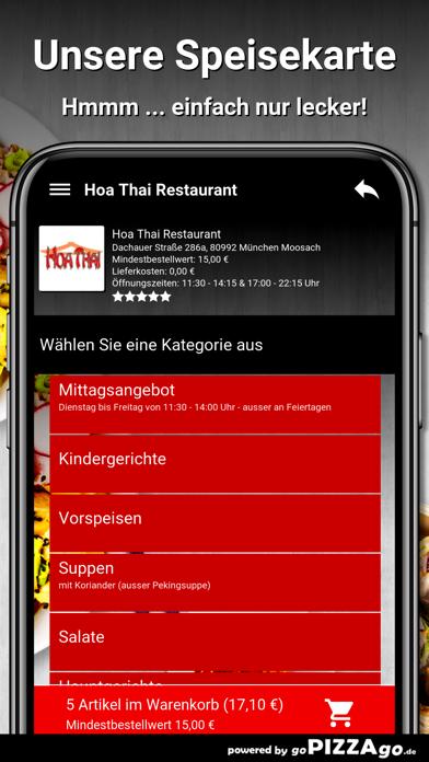 Hoa Thai Restaurant München screenshot 4