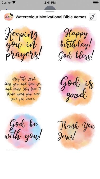 Watercolour Motivational Bible screenshot-6