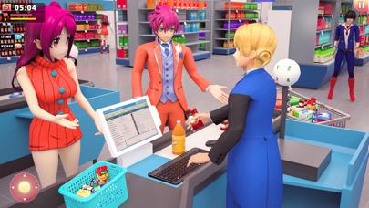 Sakura Shopping Simulator 3D Screenshot on iOS
