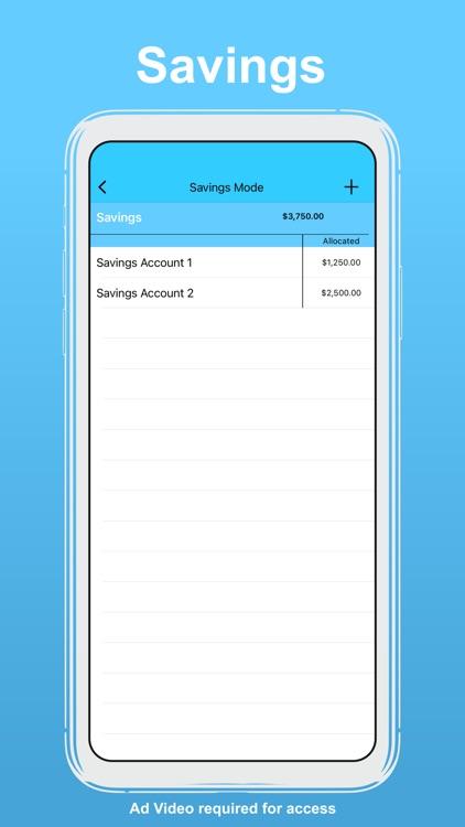 uBudget: Finance Planner screenshot-4
