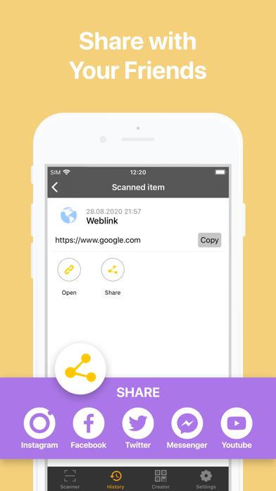 QBaR - QR Code Reader Screenshot