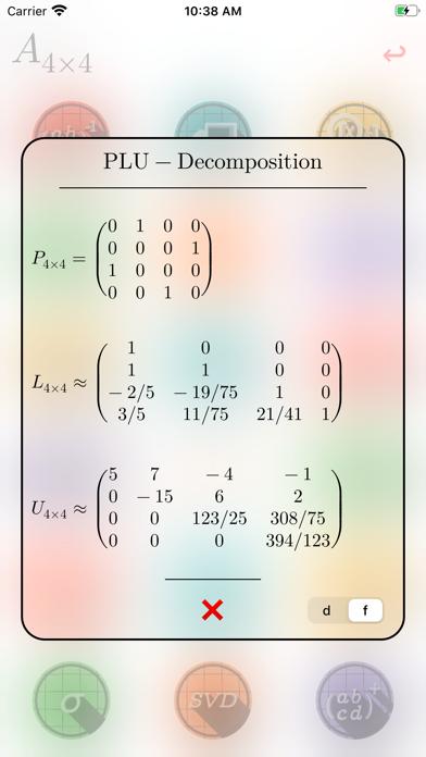 Matrix Numerics Screenshots