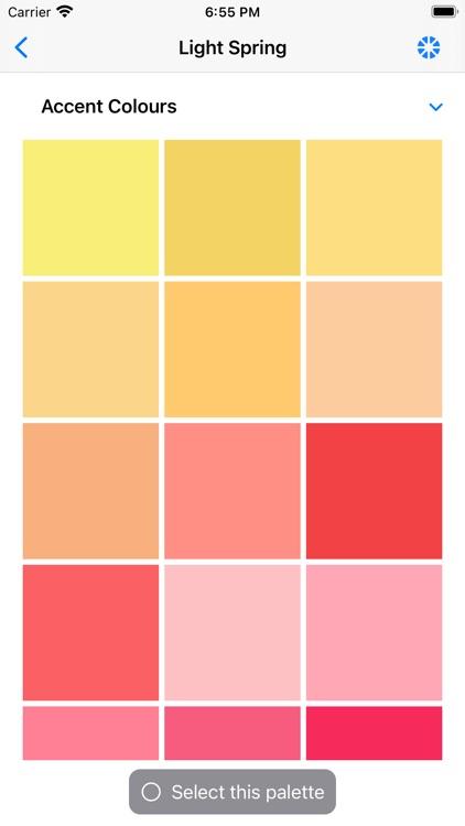 My Colour Palette