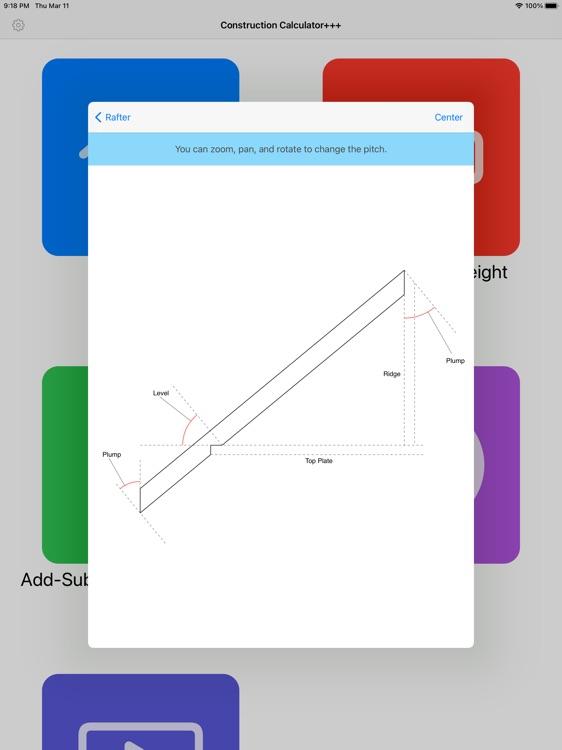 Construction Calculator+++ screenshot-4