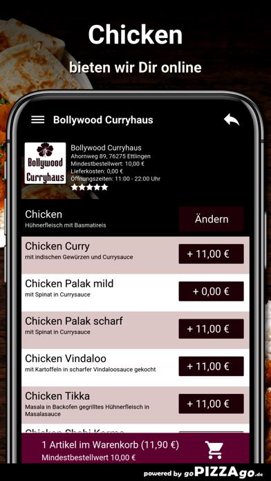 Bollywood Curryhaus Ettlingen screenshot 5