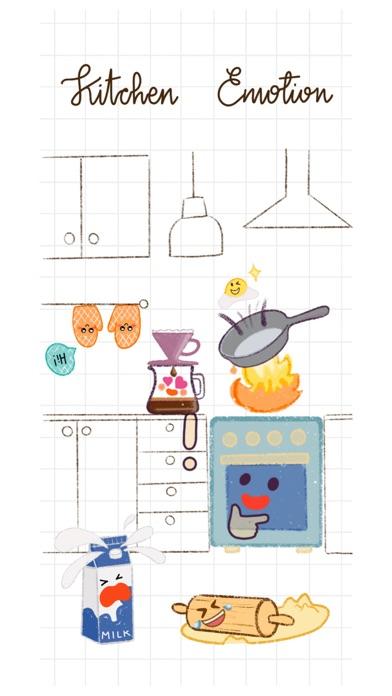 Kitchen Emotion Stickers Screenshot