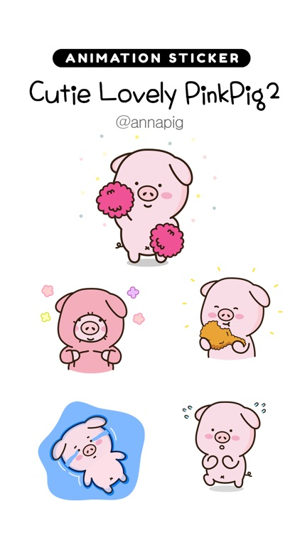 Cutie Lovely PinkPig2