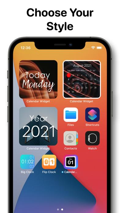 Calendar Widget - Date Widgets screenshot 4