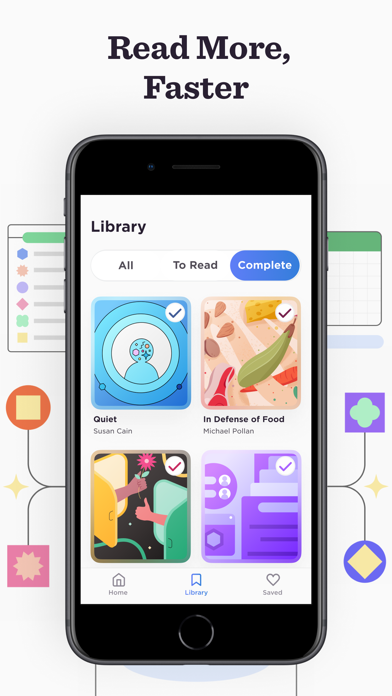 Lucid: Visual Book Insights Screenshot