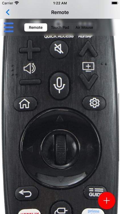 Remote control for LG screenshot-3