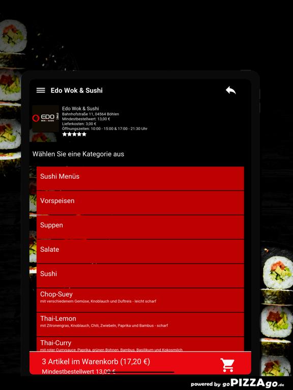 Edo Wok & Sushi Böhlen screenshot 8