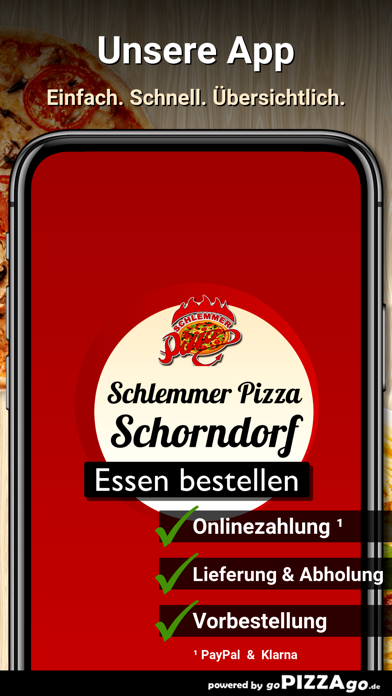 Schlemmer Pizza Schorndorf go screenshot 1