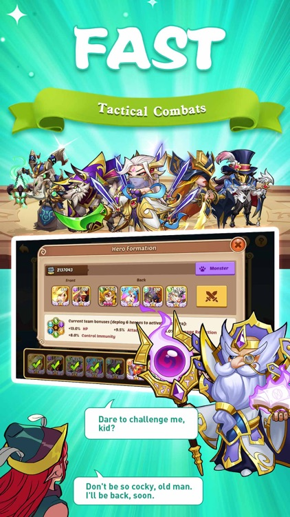 Idle Heroes - Idle Games screenshot-2
