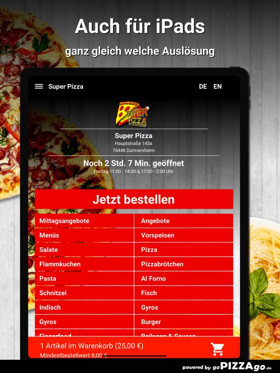 Durmersheim Super Pizza screenshot 7