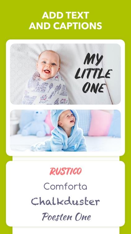 Baby Journal - Photo Editor screenshot-5