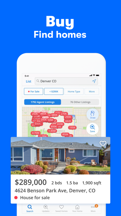 messages.download Zillow Real Estate & Rentals software