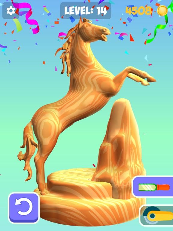Idle Wood Carving 3D screenshot 8