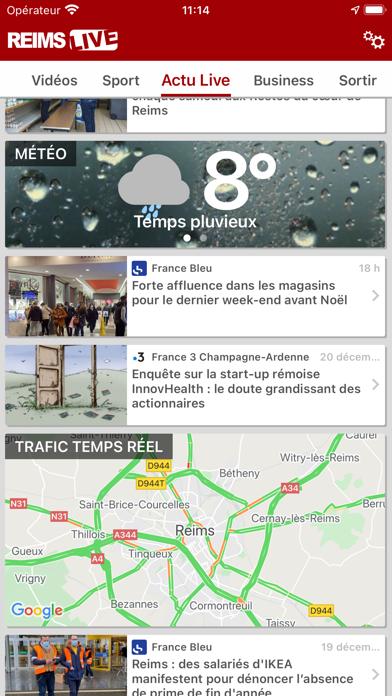 Reims Live : Actu & Sport screenshot 2