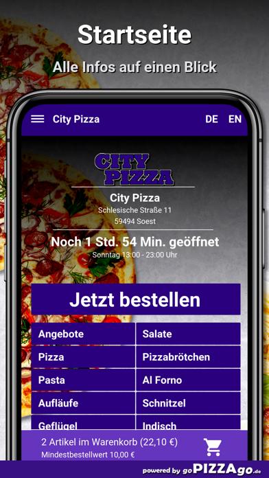 City Pizza Soest screenshot 2