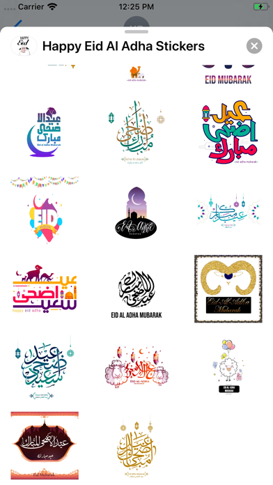 Happy Eid Al Adha Stickers screenshot 5