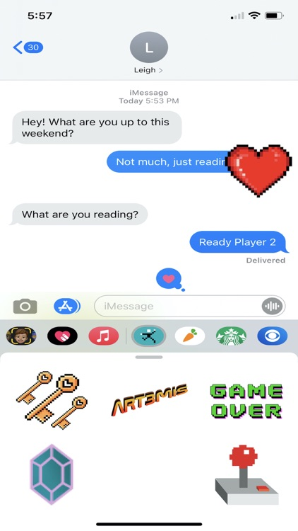 Ready Player Two Sticker Pack
