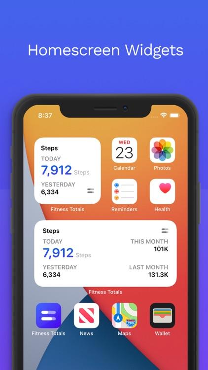 Fitness Totals screenshot-3
