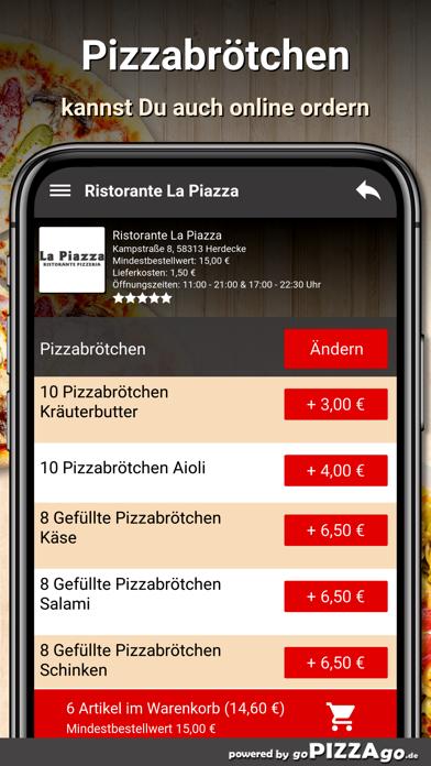 Ristorante La Piazza Herdecke screenshot 5