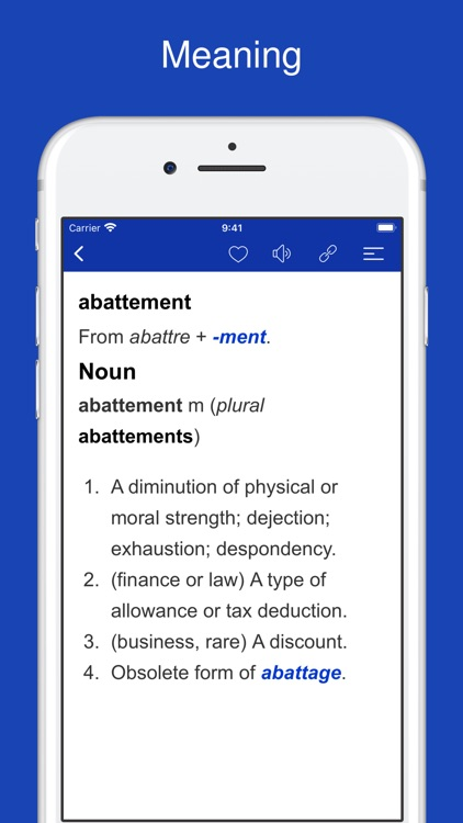 French Word Parts, Vocabulary screenshot-7