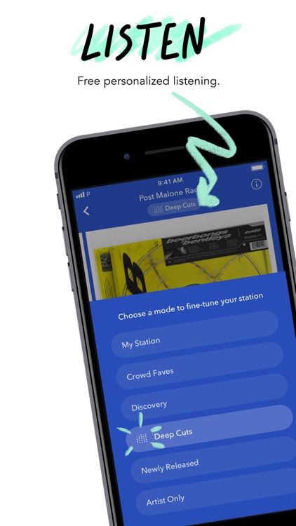 Pandora: Music & Podcasts screenshot-0