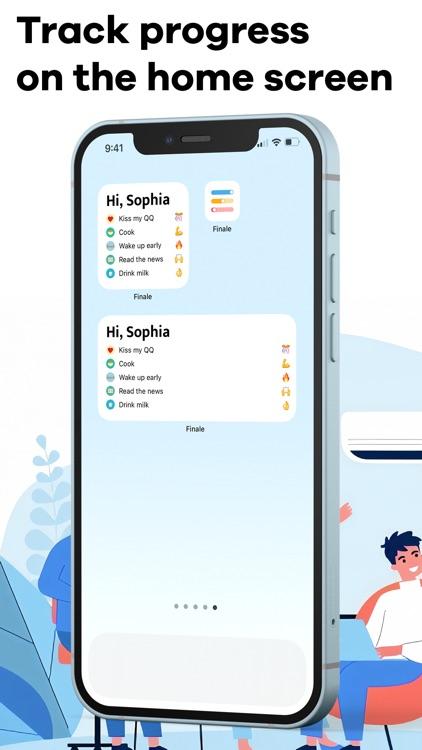Finale: Daily Habit Tracker screenshot-4