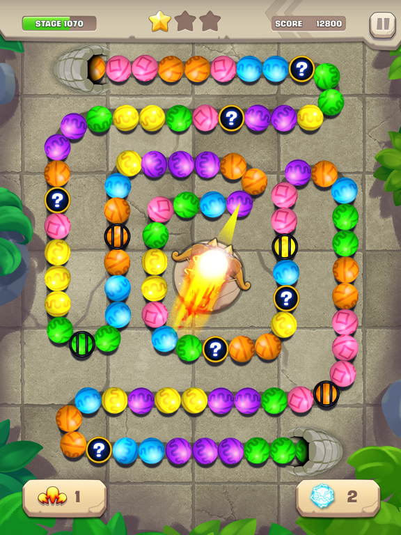 Marble Puzzle! Temple Mission screenshot 9