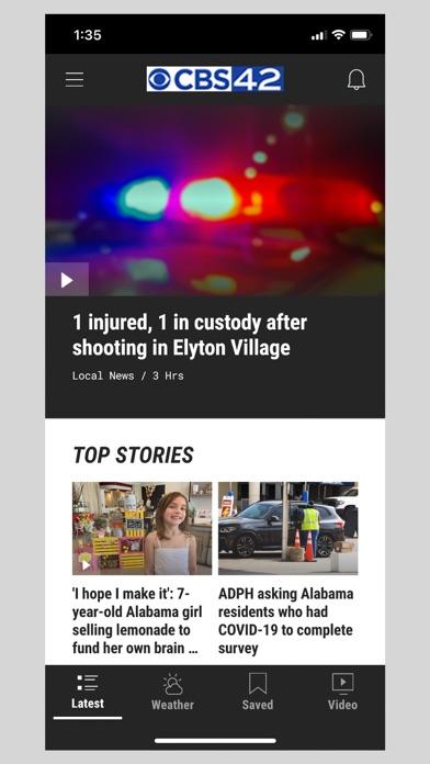 CBS 42 - AL News & Weatherのおすすめ画像1