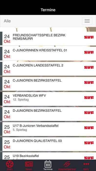 SV Fellbach FußballScreenshot von 4