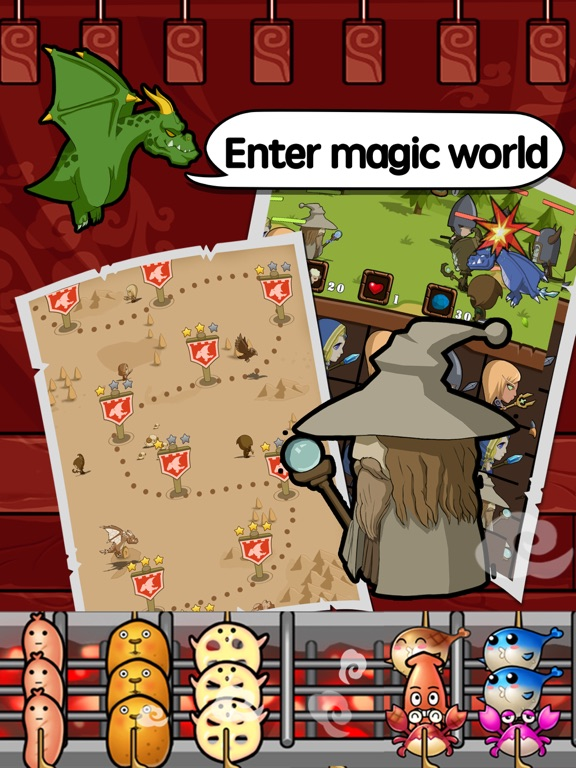 Magic BBQ - Cooking RPG Screenshots