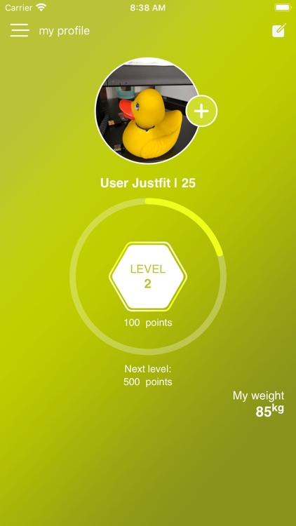 JustfitMe screenshot-1