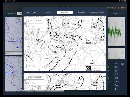 Zeeweer HD iPad app afbeelding 2
