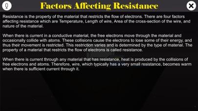 Factors Affecting Resistance screenshot 1